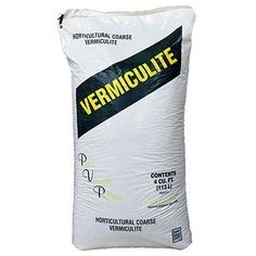 Coarse Vermiculite, 4 cubic foot bag - Soil Additives
