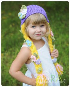 Rapunzel hat - could Chris make this?
