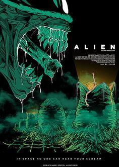 thepostermovement:  Alien by Mainger
