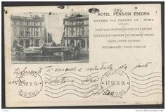 ROMA - HOTEL PENSION ESEDRA - 1926