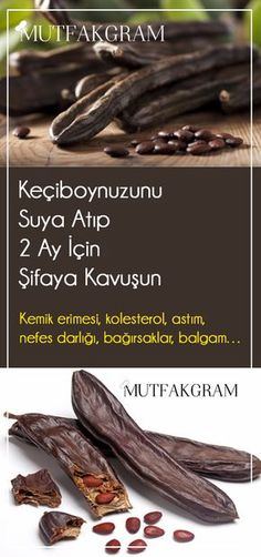 Keçiboynuzunu Suya Atıp 2 Ay İçin Şifaya Kavuşun – Mutfakgram Throw the carob into water and get healing for 2 months – Mutfakgram, Drop-# Attain the # The # Carob I Health Diet, Health And Nutrition, Health Fitness, Lemon Benefits, Health Benefits, Tamarindus Indica, Healthy Sport, Herbal Remedies, Food Recipes