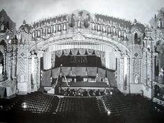 Proscenium Stage Black And White Proscenium stage black