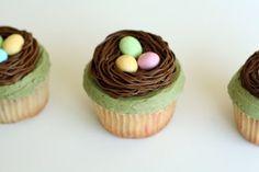 Birds' Nest Cupcakes   Heather Drive