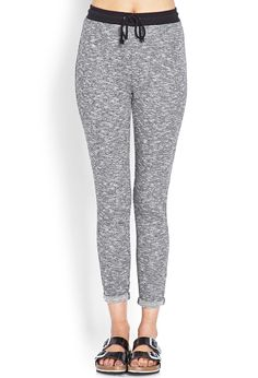Sporty Chic Heathered Sweatpants | FOREVER 21