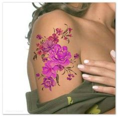 Temporary Tattoo Shoulder Flower Ultra Thin Realistic Fake Tattoos from UnrealInkShop on Etsy. Saved to Temporary Tattoos. Sexy Tattoos, Rose Tattoos, Body Art Tattoos, Maori Tattoos, Tatoos, Faith Tattoos, Feminine Tattoos, Music Tattoos, Tattoo Drawings