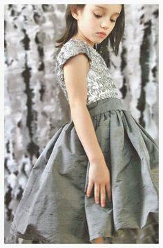 tutorial vestido niña