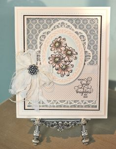 CRAFTING MY STYLE with Sue Wilson:   Join Sue in this episode of Crafting My Style, as Sue demonstrates a slightly different method of card design to her traditional style. Sue will show you how to colour with distress inks, as well as how to work with the Dies to use them as a background.  http://particraft.blogspot.co.uk/2014/08/peeking-die-cut.html