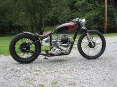 Triumph 6T 1962 By Atom Bomb Custom    ♠ http://milchapitas-kustombikes.blogspot.com/ ♠