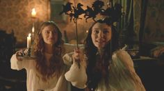 The White Queen (2013) Starring: Faye Marsay as Lady Anne Neville and Eleanor Tomlinson as Lady Isabel Neville.