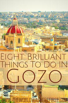#Malta #Gozo #Travel #Europe Gozo, Malta | Things to do in Gozo | Things to do in Malta | Places to visit Malta | Gozo places to visit