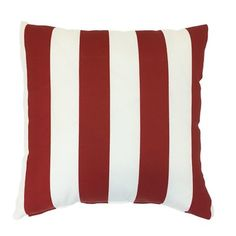 "Easy Way Products Reversible Zip Outdoor Throw Pillow Size: 20"" H x 20"" W"