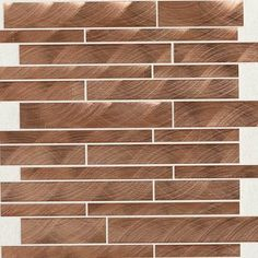 Check out this Daltile product: Structure Copper 12 x 12 Interlocking Mosaic ST71