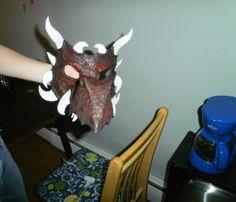 Toni's Dragon Mask | Flickr: Intercambio de fotos