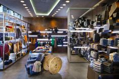 RIFLE flagship store in Milan by David Rossi Design