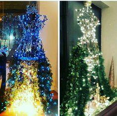 """The Body"" Alternative Christmas trees. Built by Love My Wreath Lovemywreathshop.com Lovemywreath@yahoo.com @sabrinabesswreaths"