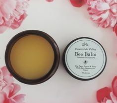 Bee Balm is a natural balm that can be used as a moisturizer all over Active Ingredient, The Balm, Moisturizer, Bee, Skin Care, Flowers, Moisturiser, Honey Bees, Skincare Routine