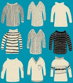 Sweaters by Samantha Cotterill