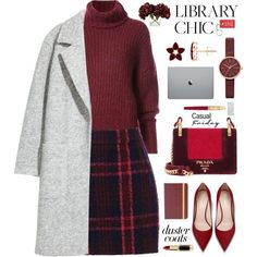 Casual by blessedunicorn on Polyvore featuring BY. Bonnie Young, Oasis, Prada, Skagen, L'Oréal Paris, Frontgate and Cartier
