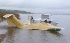 Flying Ship, Flying Boat, Ground Effects, Wig, Boats, Aircraft, Ships, Outdoor Decor, Design