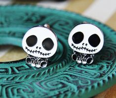 Perfect Gifts for Men  Zombie Cufflinks  SKULL  by CleopatraNYC, $58.00