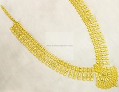 Necklaces / Harams - Gold Necklaces / Harams (NK37853785) at USD 1,812.76 And EURO 1,461.66