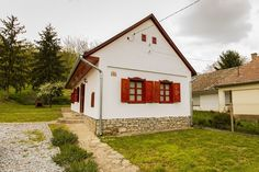 European House, Cottage Homes, How Beautiful, Hungary, Countryside, Shed, Farmhouse, Outdoor Structures, Cabin