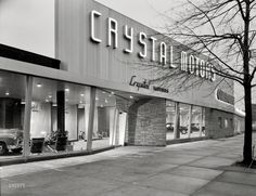 Shorpy Historical Photo Archive :: Crystal Motors: 1950