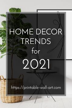 We look at the main trends in home decor for 2021, including colour trends. Free Brochure, Seasonal Decor, Holiday Decor, Colour Trends, Photo Displays, Home Decor Trends, Color Pallets, Mom Blogs, Printable Wall Art