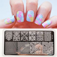 plate born on sale at reasonable prices, buy llusion Theme Nail Art Stamp Template Image Plate Rectangular Stamping PLates BORN PRETTY 12 x from mobile site on Aliexpress Now!