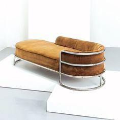 studiodistilGiuseppe De Vivo's Chaise lounge, De Vivo, 1935 #fullybraced