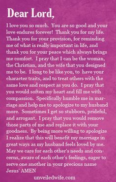 Prayer: Apologizing To My Husband http://unveiledwife.com/prayer-of-the-day-apologizing-to-my-husband/?utm_campaign=coschedule&utm_source=pinterest&utm_medium=Unveiled%20Wife%20(Prayer%20of%20the%20Day%20for%20Marriage)&utm_content=Prayer%3A%20Apologizing%20To%20My%20Husband