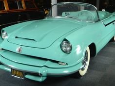 1954 Dodge Granada Custom concept car. One piece fiberglass laminated plastic body prototype.