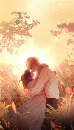 Couple Anime Manga, Anime Couple Kiss, Romantic Anime Couples, Anime Couples Drawings, Anime Couples Manga, Chica Anime Manga, Anime Sweet Couple, Anime Couples Cuddling, Anime Couples Hugging