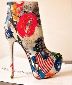 Red bottom shoes.. awee ya baby! on Pinterest | Red Bottom Shoes ...