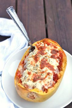 Spaghetti Squash Lasagna Bowls.  I will be making this for the family.