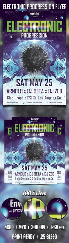 Eletronic Progression Flyer
