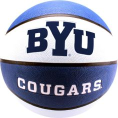 NCAA BYU Cougars Collegiate Deluxe Official Size Rubber Basketball - http://livinglds.com/ncaa-byu-cougars-collegiate-deluxe-official-size-rubber-basketball-2/ #LDS #Mormon #Gospel #LDSLiving
