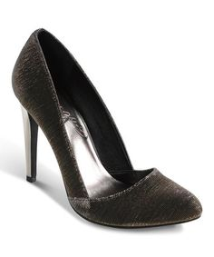 Take a look at this Platinum Fame Game Pump by Vogue Footwear on #zulily today!