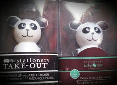 Panda, Stationery, Snoopy, Christmas Ornaments, Holiday Decor, Fictional Characters, Collection, Art, Pencil Sharpener
