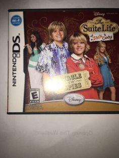 Nintendo DS The Suite Life Of Zach And Cody Circle Of Spies Game