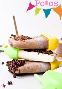 Receta Polos de chocolate
