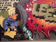 Graffiti wall #amsterdam