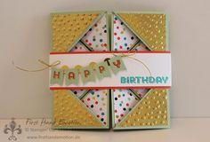 First Hand Emotion: Blog Hop zur Stampin' Up! Sale-a-Bration 2014 Diy Paper, Paper Crafts, Origami Cards, 3d Craft, Blog, Diy Cards, Craft Cards, Folded Cards, Stampin Up Cards