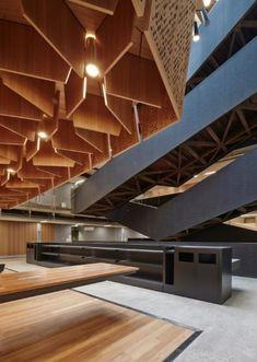 Gallery of Melbourne School of Design University of Melbourne / John Wardle Architects + NADAAA - 33 Diy Interior, Interior Design Living Room, Interior And Exterior, Interior Doors, Architects Melbourne, Melbourne Architecture, Interior Architecture, Architecture Details, Pop Design