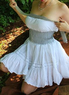 Shadow Oak Maille I chainmail fashion jewelry   corsets