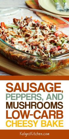 Easy Low Carb Meals that'll be a HUGE hit in your Family - Hike n Dip Time to add some new low carb recipes in your weekly meal planner. Look here for the best easy low carb meals ever. I bet you can't wait try them. Sausage Recipes, Pork Recipes, Casserole Recipes, Low Carb Recipes, Diet Recipes, Healthy Recipes, Chicken Casserole, Smoothie Recipes, Smoothie Diet