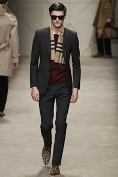 #Burberry Prorsum Fall 2013 #MFW