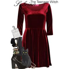 """Sabrina The Teenage Witch"" by amarie104 on Polyvore"