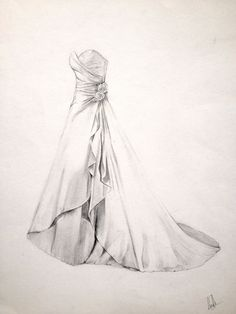Picture Perfect Fine Art Wedding Dress Illustration. The Perfect Wedding or Anniversary Gift for your Wife. Preserve Your Wedding Dress on Etsy, £175.00