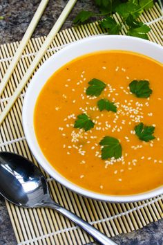 cook : soup on Pinterest | Soups, Pumpkin Soup and Carrot Soup